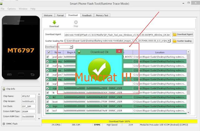 Fix Error:status_sec_img_too_large PADA Sp Flash Tool MTK