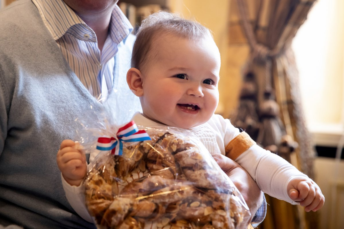 Prince Charles of Luxembourg celebrated his first Bretzelsonndeg
