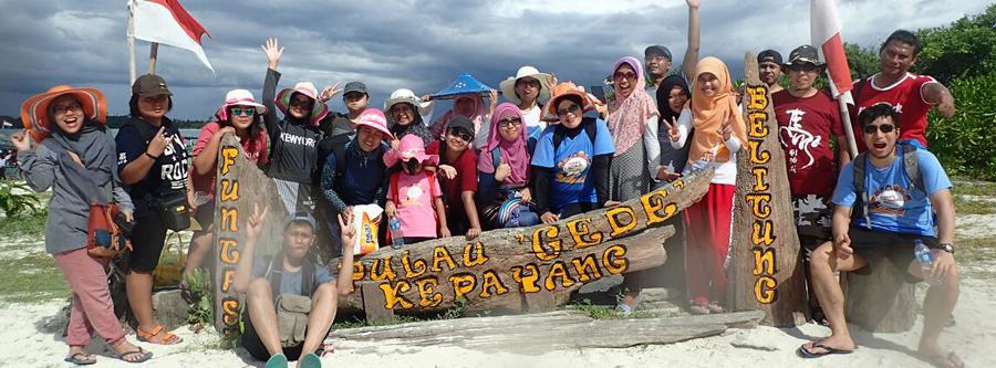 paket tour belitung murah hopping island