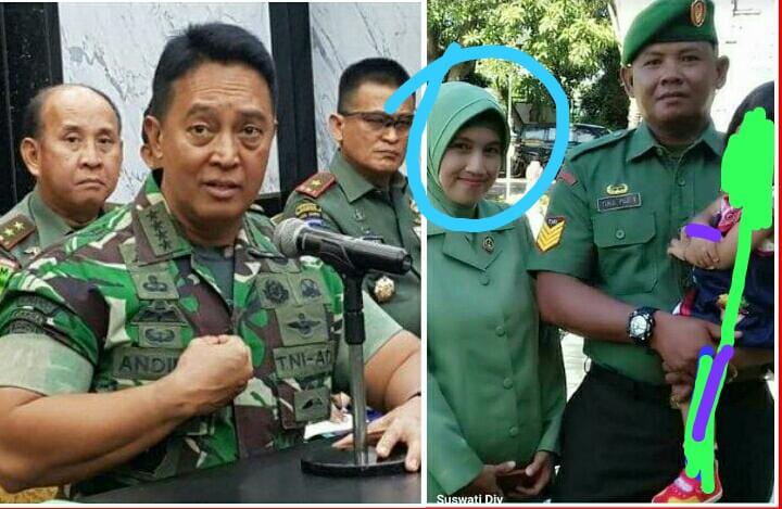 """Istri Anggota TNI Diproses Hukum Gara-gara Posting """"Moga Rezim Tumbang"""""""