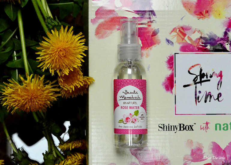 ShinyBox with Natura Spring Time - Beaute Marrakech Woda Różana w spray`u