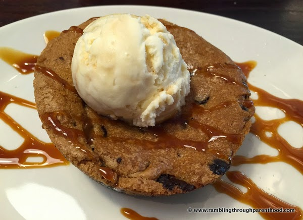 Cookie Dough Lava Cake - need I say more?