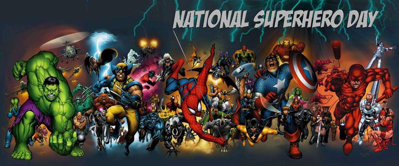 National Superhero Day Wishes Images