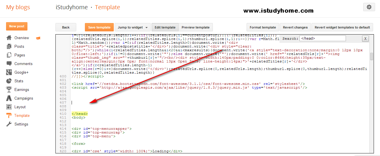 Embed JWplayer to Blogger - iStudyhome com