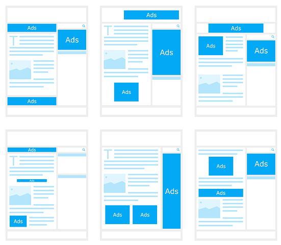 Ukuran dan posisi penempatan iklan google adsense