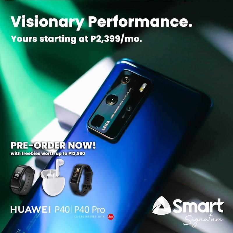 Smart Huawei P40 series