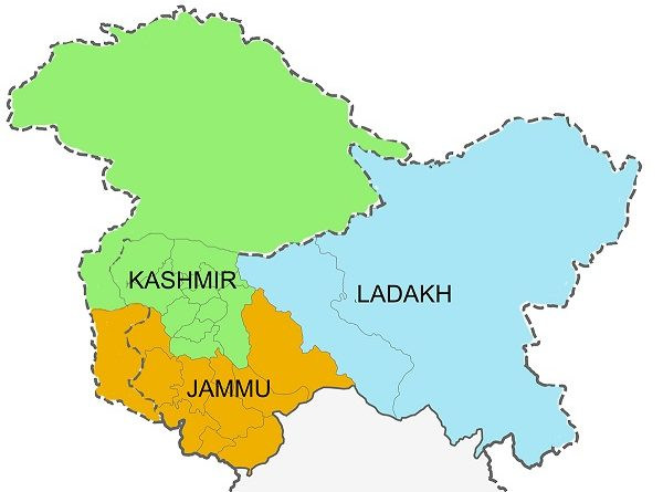J&K Map