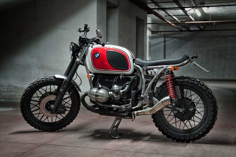 BMW R80 'Boxer Country' by MotoRecyclos