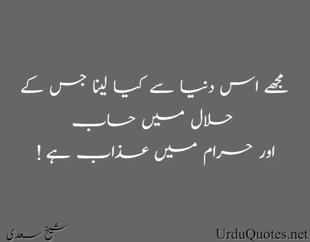 Hikayat-e- Saadi Quotes