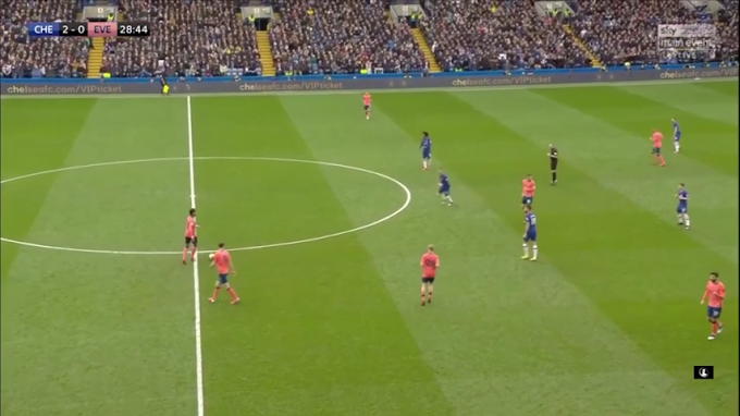Live now: Chelsea vs Everton on your mobile phone.