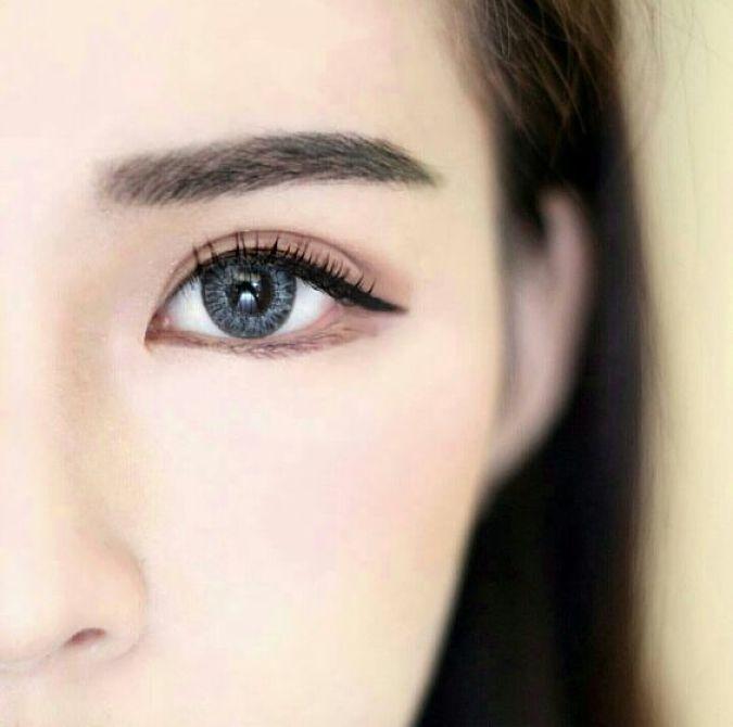 Korean Eyebrow Look