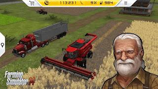 Farming simulator 14 mod 50mb money bertani android Offline game