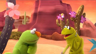 Sesame Street Elmo The Musical Iguana the Musical