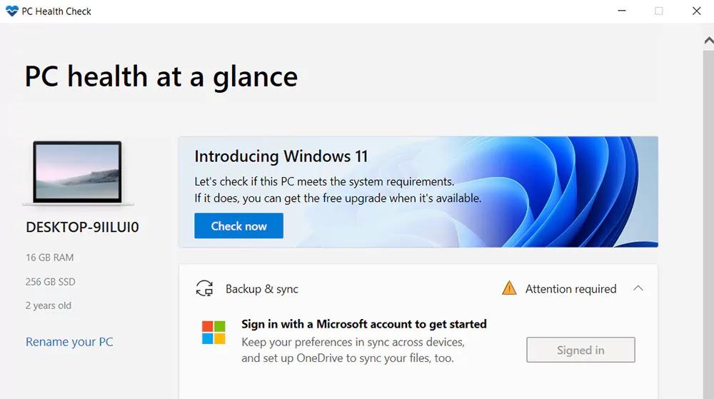 Cara memeriksa apakah PC Anda kompatibel dengan Windows 11
