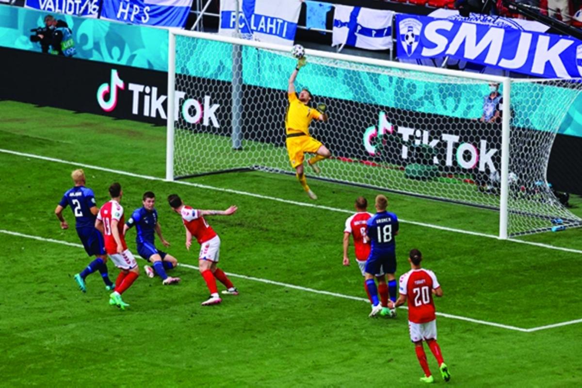 تقرير مباراة روسيا وفنلندا في الجولة الثانيه من كأس الامم الاوروبيه