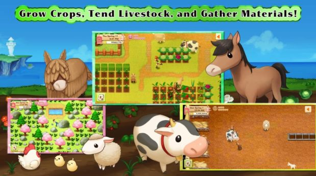 'Harvest Moon' Cultivates New Farm on Android, iOS