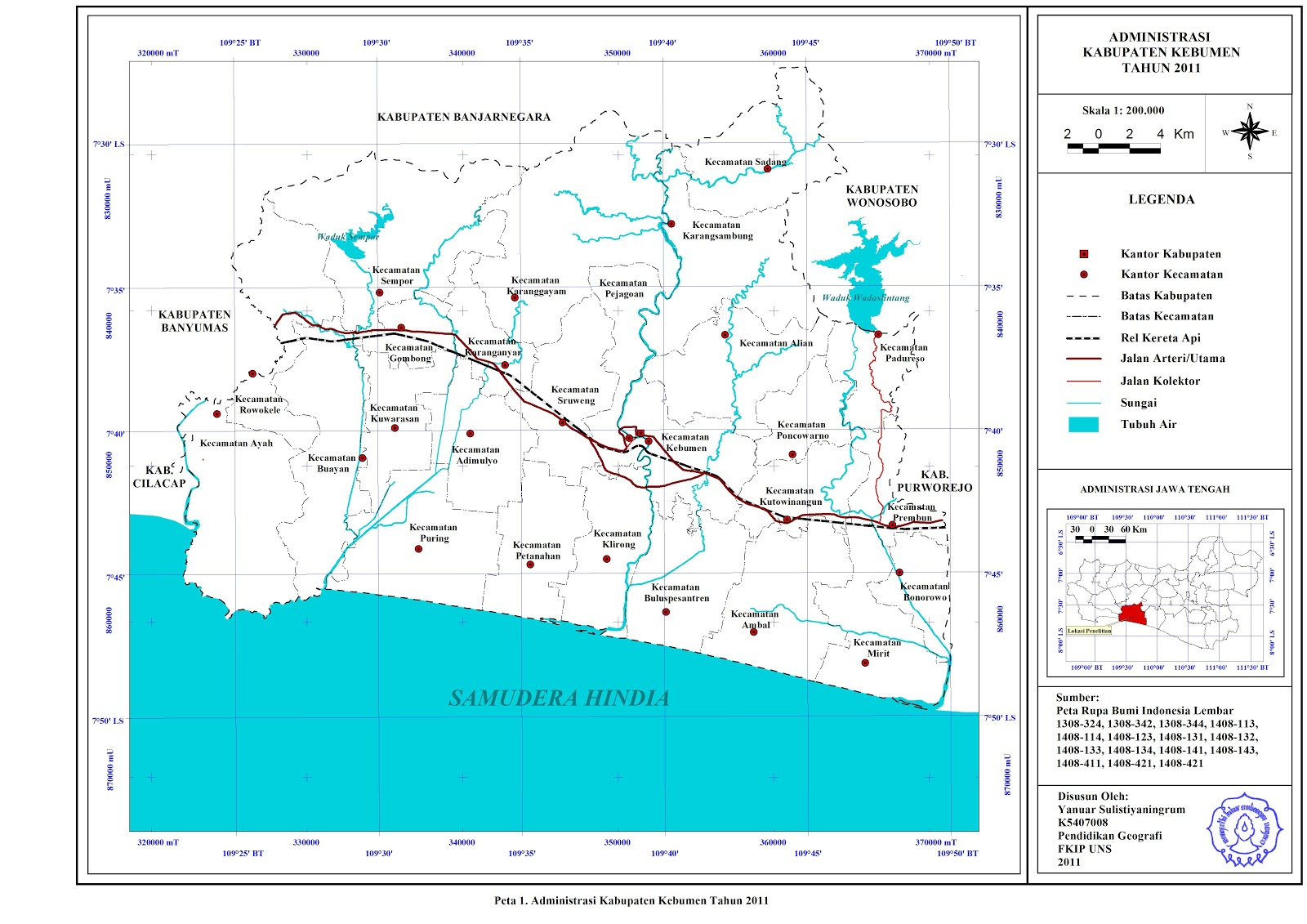 Belajar Geografi: Wisata di Kebumen