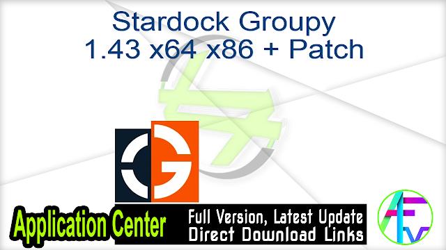 Stardock Groupy 1.43 x64 x86 + Patch