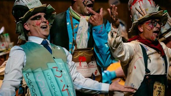 El coro a pie será 'Cádiz resiste' en el COAC 2020