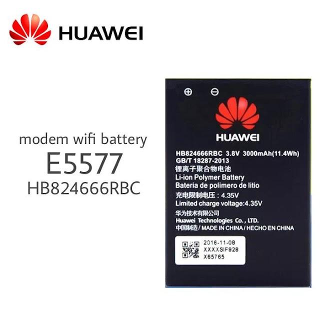 HB824666RBC Original Battery For Huawei E5577 3.8V 3000mAh