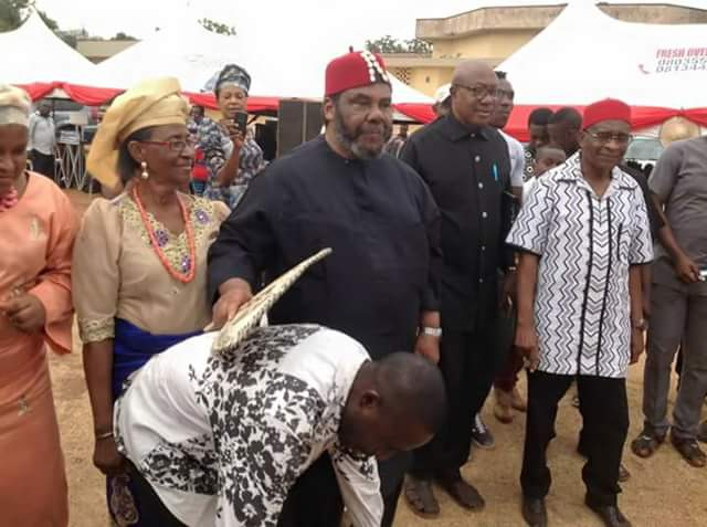 Nollwood Actor, Pete Edochie's 70th Birthday Celebration In Enugu In Pictures