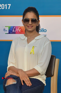 Actress Rakul Preet Singh at Endometriosis Awareness Walk at Apollo Cradle  0080.jpg