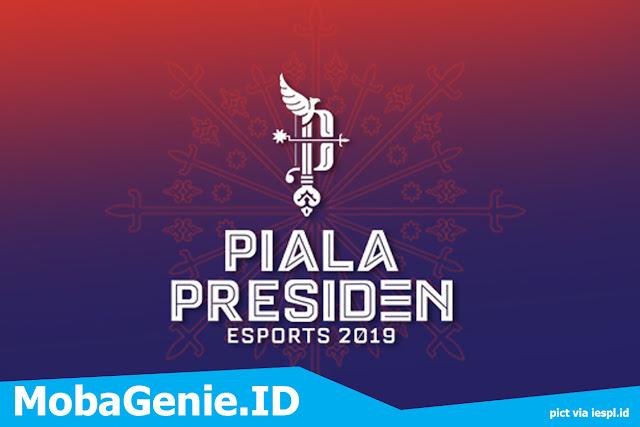Piala President esports 2019