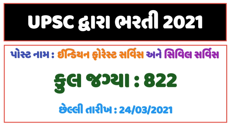 Indian Forest Service and Civil Service Examination 2021
