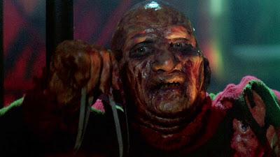 Freddy en sale état dans LA REVANCHE DE FREDDY