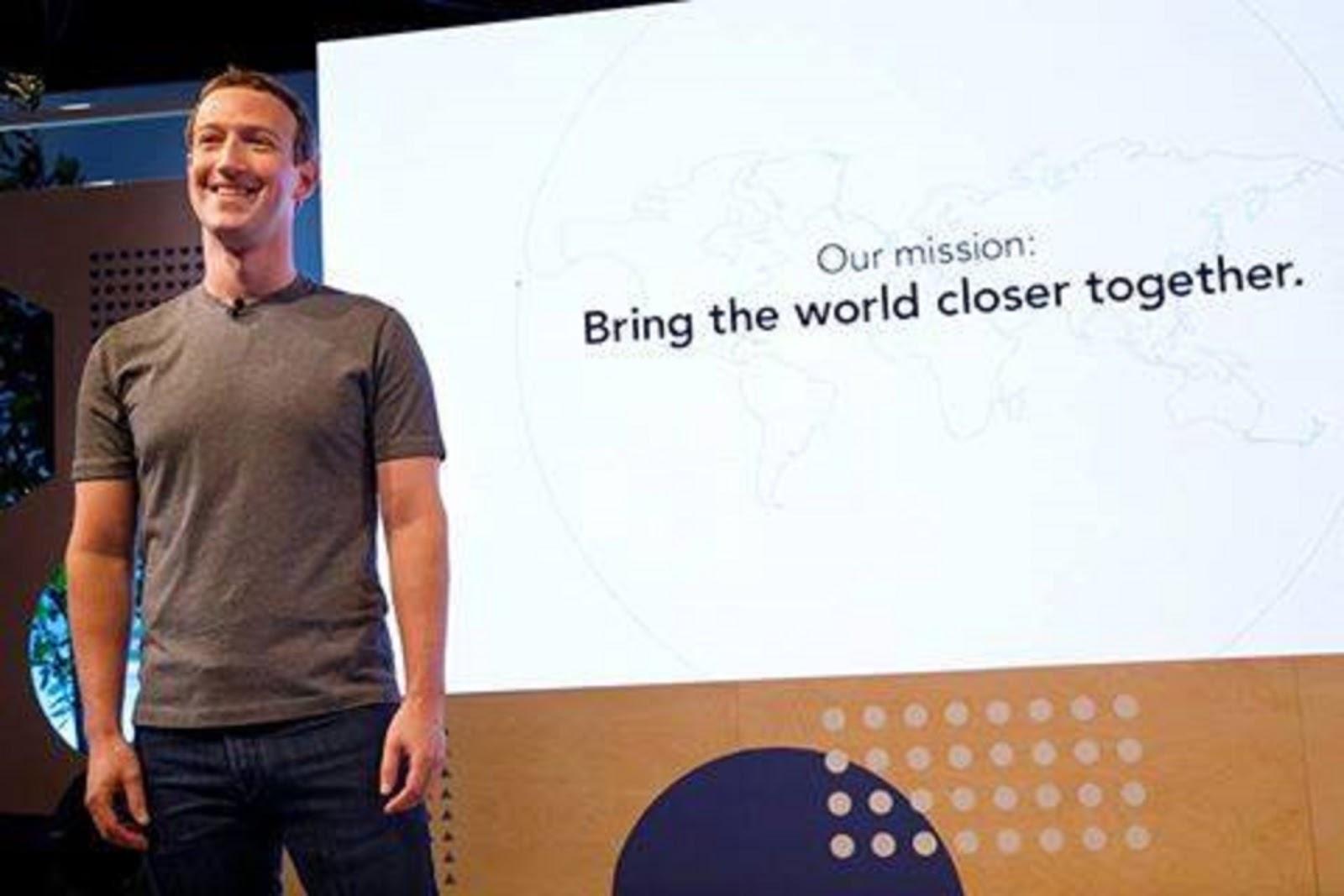 Terima kasih telah datang di Pertemuan Komunitas Facebook yang pertama Mark Zuckerberg: Bring The World Closer Together