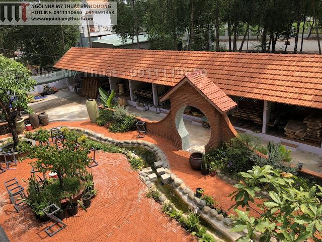 Trang trí quán cafe sân vườn đẹp nhất Bình Dương