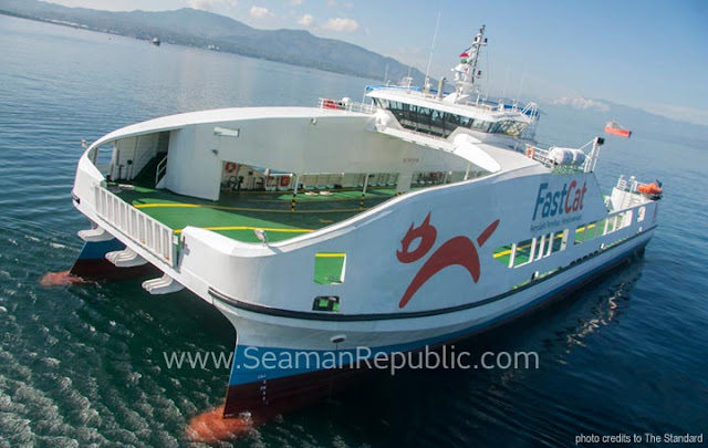 The FastCat - Fast Catamara Ferries operational on the Philippines