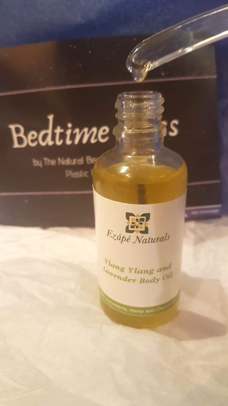 Ezape Naturals Ylang Ylang & Lavender Body Oil Review - The Natural Beauty Box