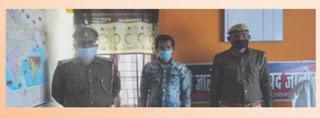 जालौन पुलिस द्वारा 1 अभियुक्त को चरस व अवैध चाकू के साथ गिरफ्तार किया -पुलिस अधीक्षक जालौन