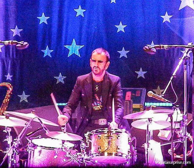 Show de Ringo Starr no Rio de Janeiro (Vivo Rio, fevereiro de 2015)