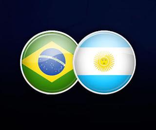 Бразилия - Аргентина смотреть онлайн бесплатно 15 ноября 2019 Аргентина - Бразилия прямая трансляция в 20:00 МСК.