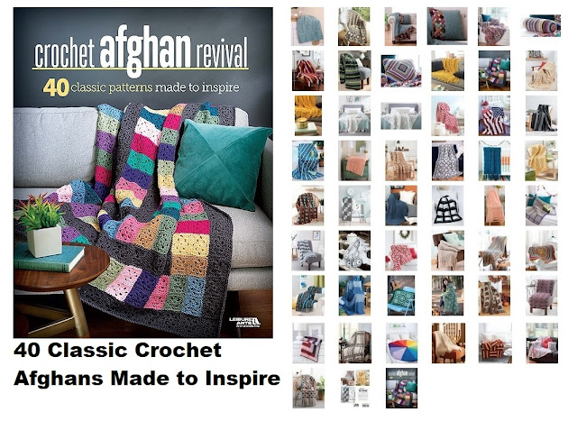 40 Crochet Classic afghan Patterns