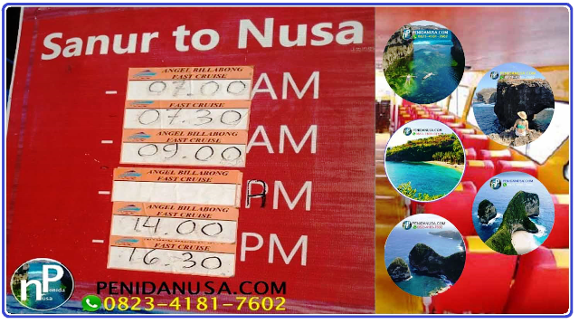 TOUR MURAH NUSA PENIDA,INTENERARY HALF DAY TOUR NUSA PENIDA