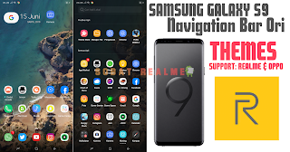 Download Themes One Ui 3 1 + Navigation S9 for Realme & OPPO