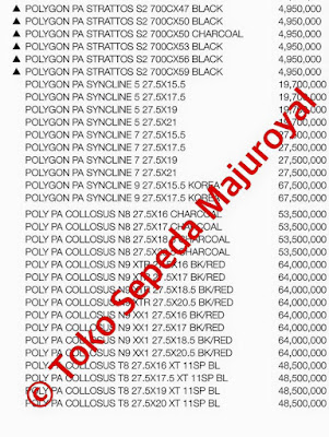 Harga Sepeda Mtb Polygon Strattos Syncline Collosus September 2015 sebelum discount
