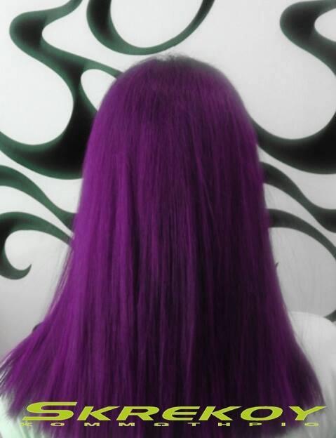 Peachy Gorgeous Purple Hairstyles Short Hairstyles Gunalazisus