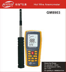 Benetech GM8903 Hot Wire Anemometer */* 082217294199