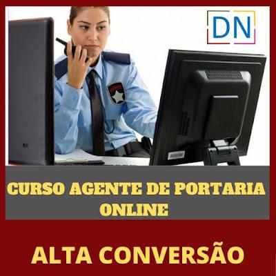 Curso Online Agente de Portaria Online - Com Certificação