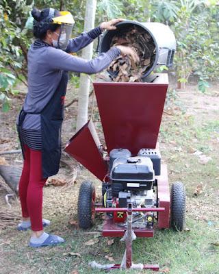 Thailand Garden Mulcher Shredder