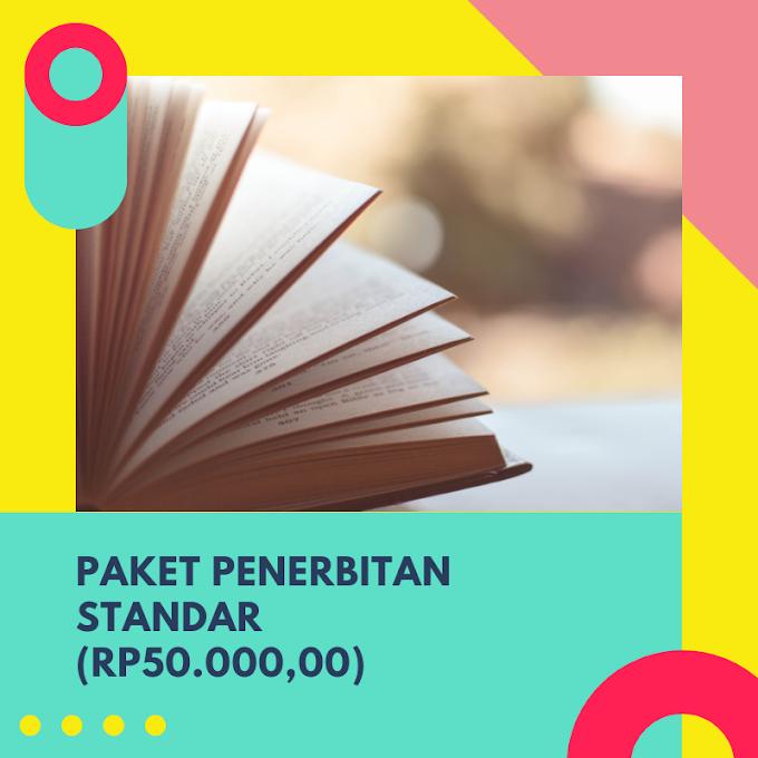 [PROMO] Paket Penerbitan Standar Murah (Rp 20.000,00)