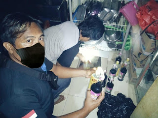 Kapolres Iwan Irmawan Pimpin Langsung Razia Miras di Sinjai