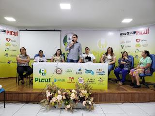 Picuí realiza reunião intermediária de acompanhamento do selo UNICEF