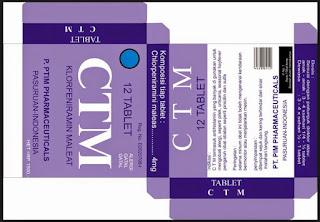 anti alergi, CTM, klorfeniramin maleat, mengantuk, sedasi