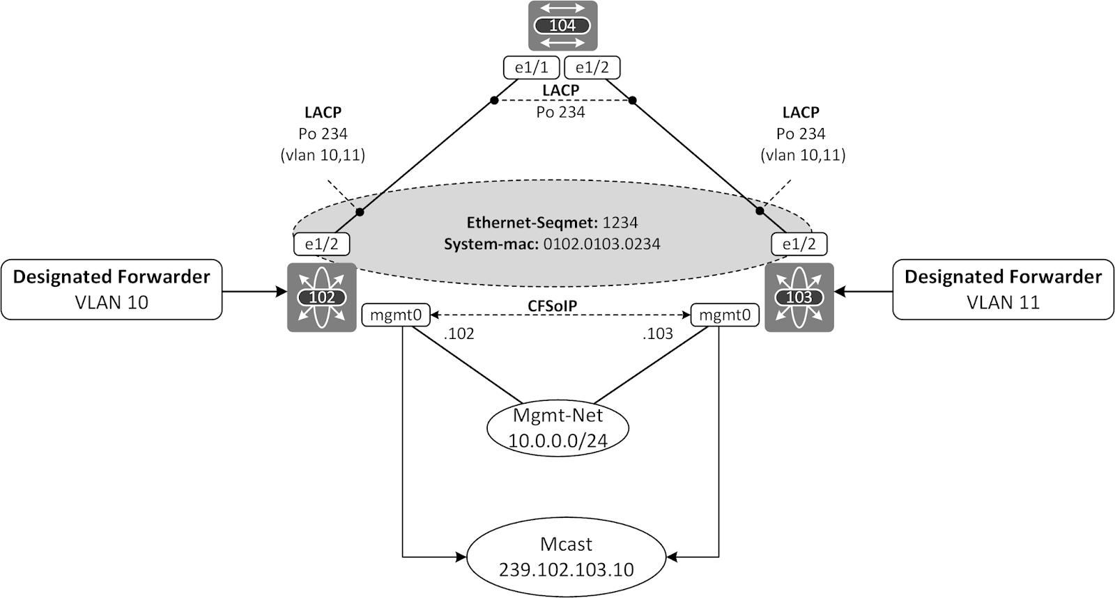 The Network Times: EVPN ESI Multihoming - Part I: EVPN