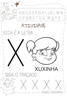 Atividades com letra X